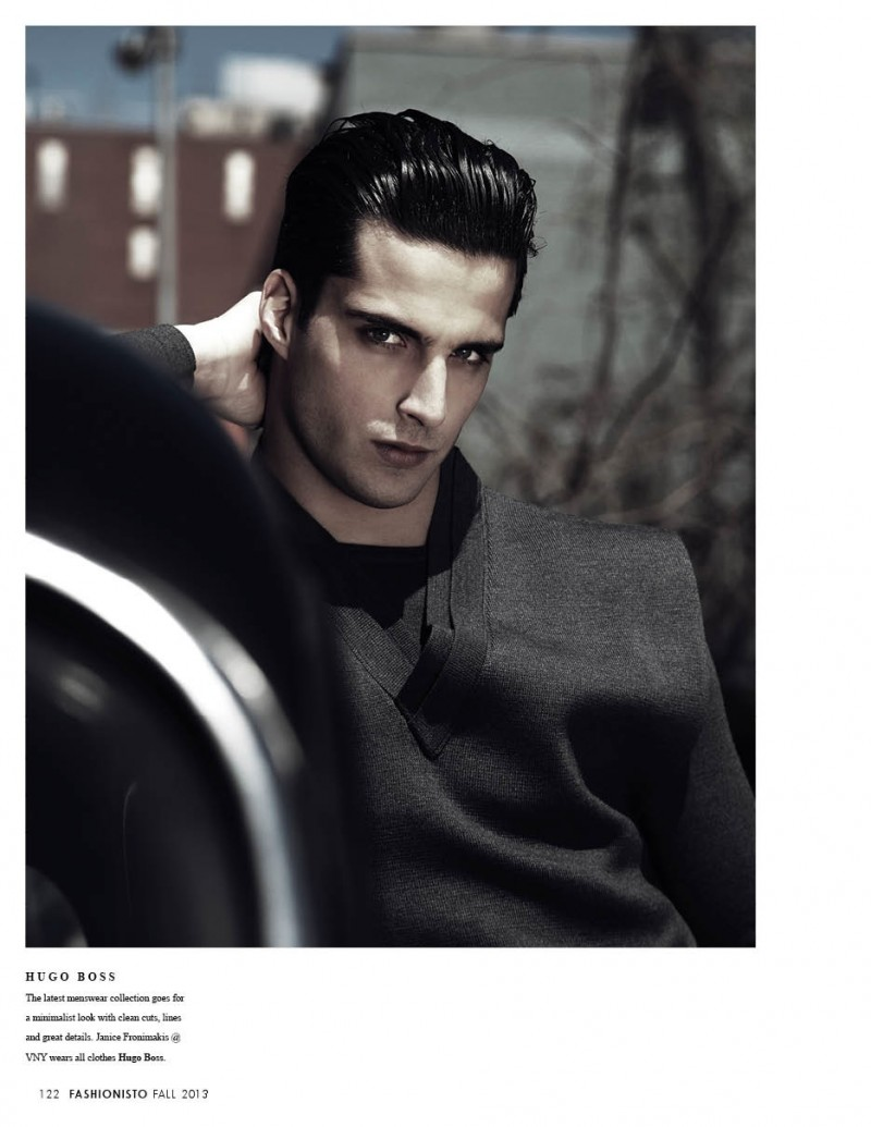 Taylor Fuchs, Erik Andersson, Blaine Cook + More Don the Fall 2013 Collections for Fashionisto #8