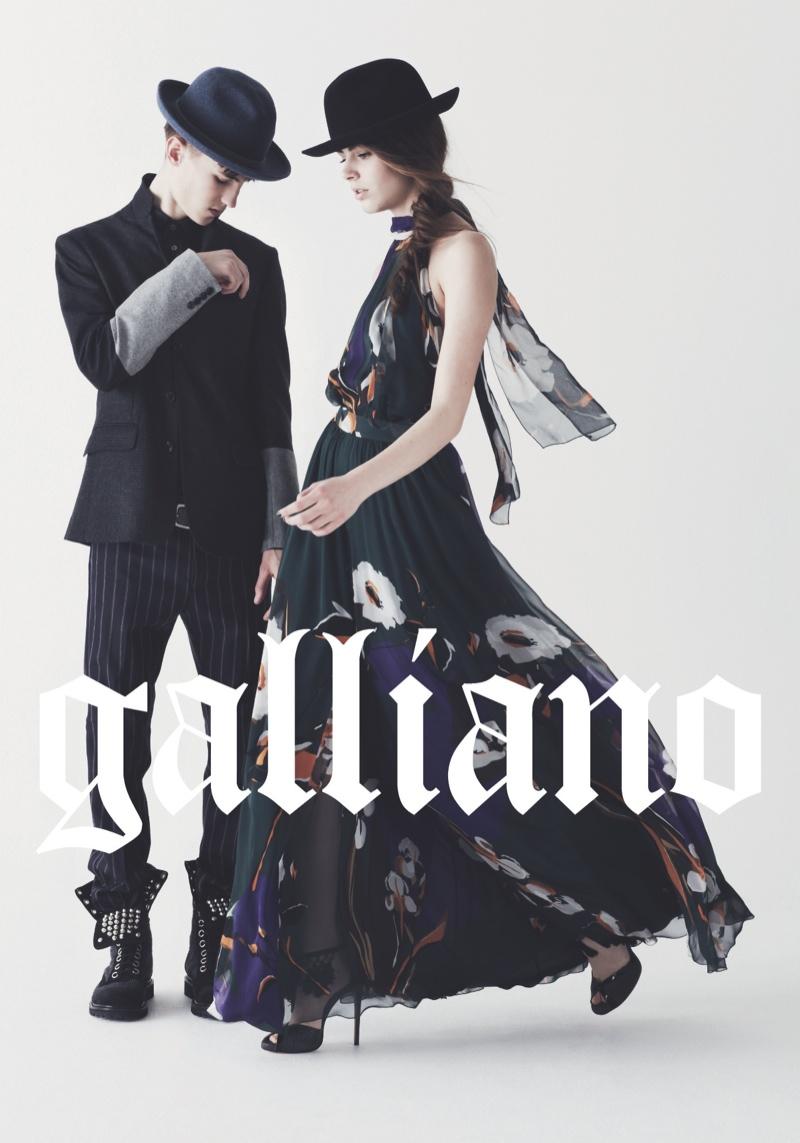 John Galliano Fall/Winter 2013 Campaign (2)