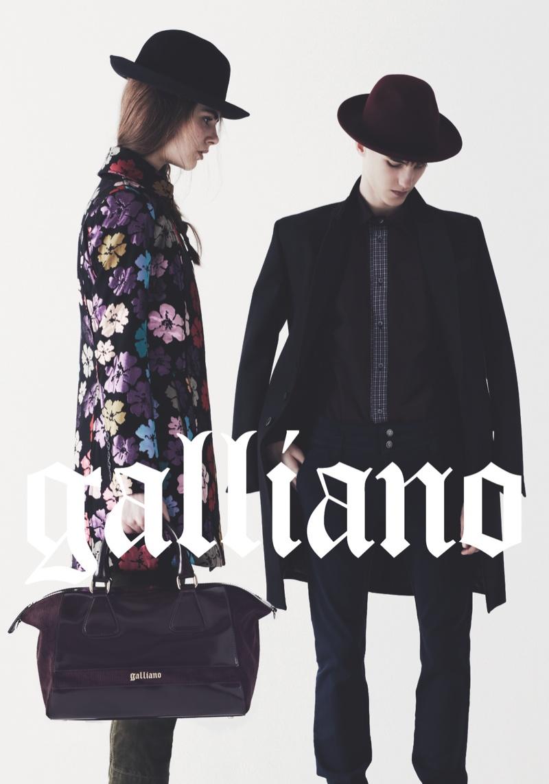 John Galliano Fall/Winter 2013 Campaign (3)