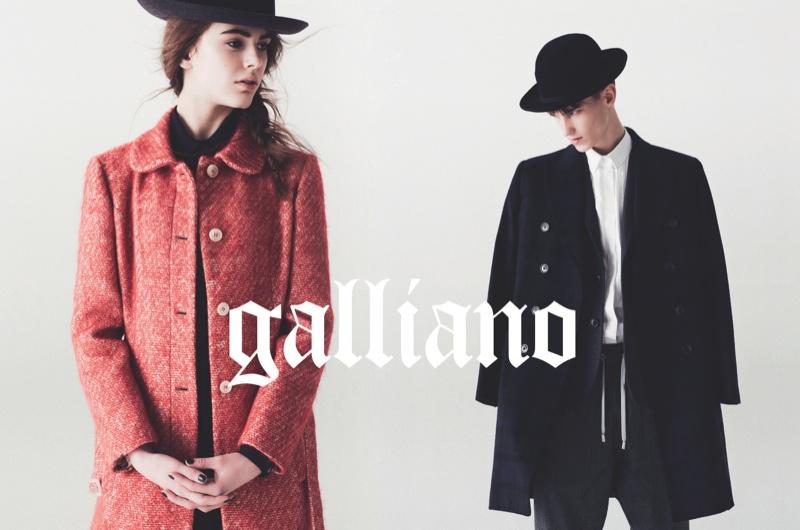 John Galliano Fall/Winter 2013 Campaign (4)