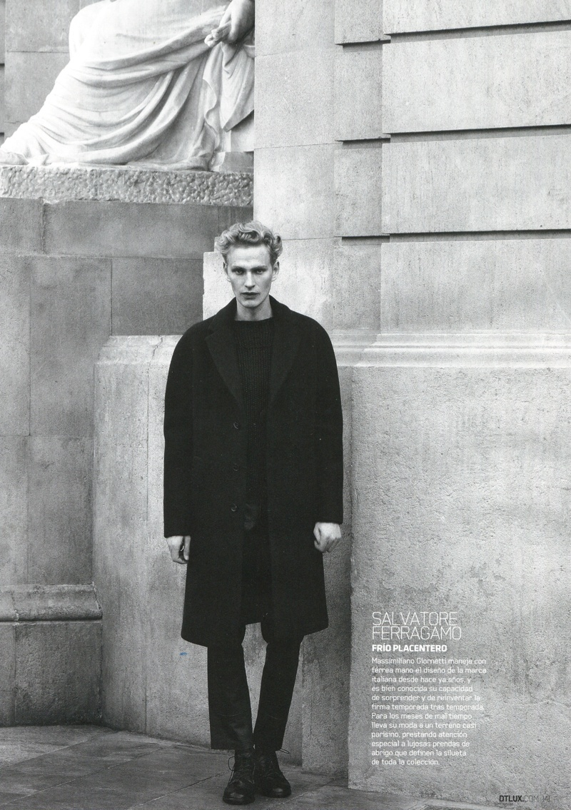 Gerhard Freidl Dons the Fall/Winter 2013 Collections for DT Spain