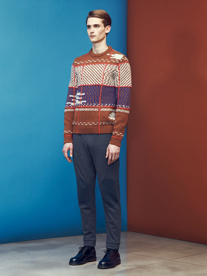 Lowell Tautchin for Mauro Grifoni Fall/Winter 2013