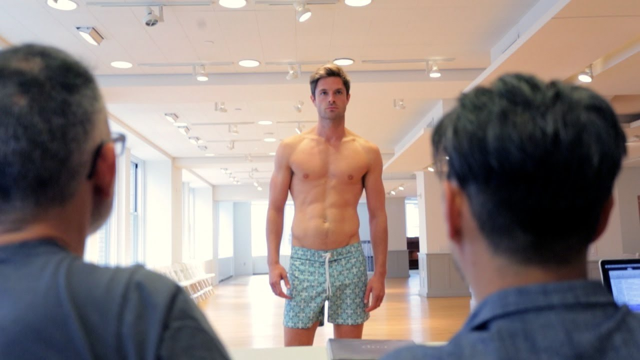 Go Behind the Scenes of an Ab-Tastic Male Model Casting