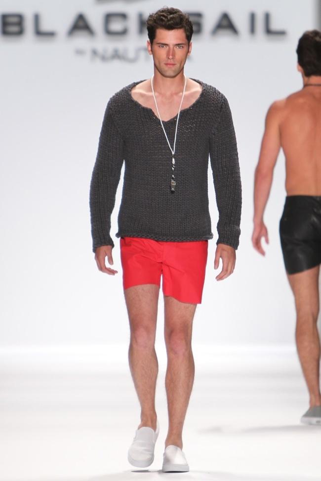 Black Sail by Nautica Spring/Summer 2014   New York Fashion Week