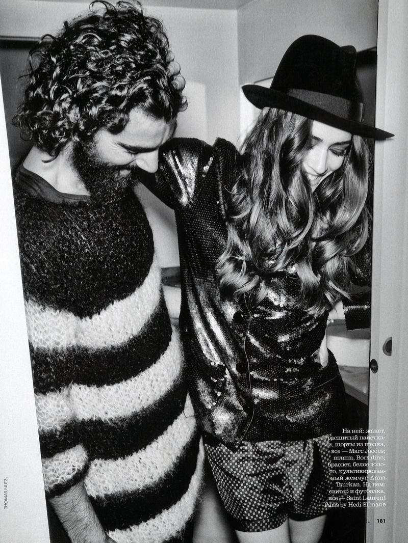 Paraskevas Boubourakas Gets Coupled for Russian Elle