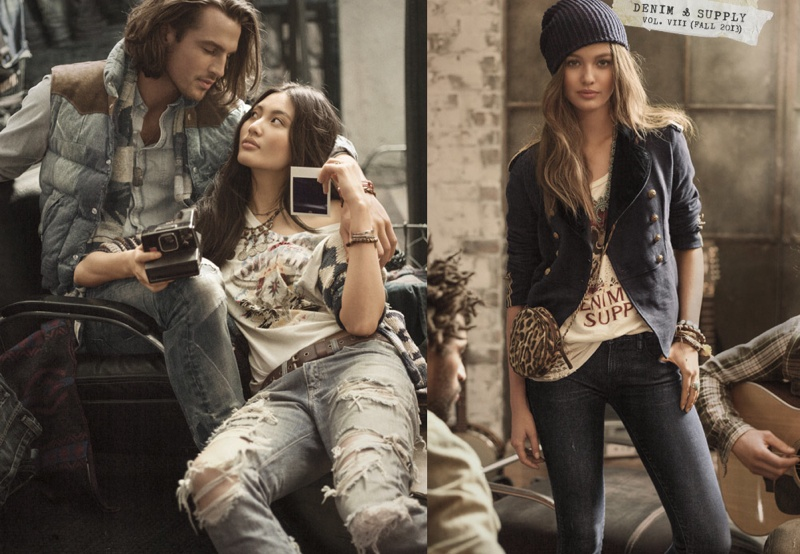 avicii  thiago santos  julian schratter  u0026 tyler van roden for denim  u0026 supply by ralph lauren