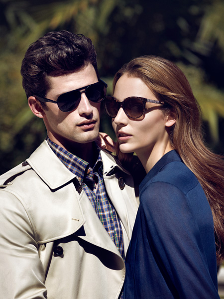Sean O'Pry & Ollie Edwards Pose for Sarar Fall/Winter 2013 Eyewear Campaign