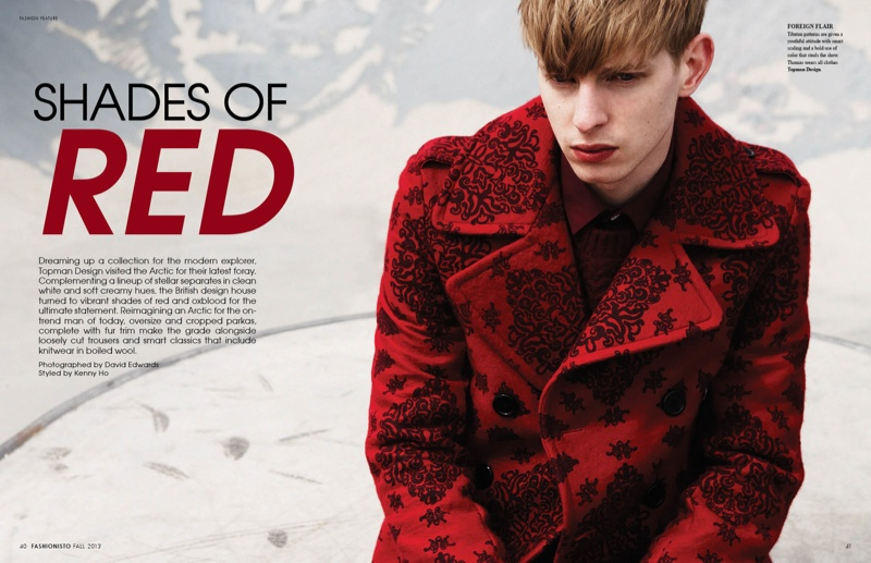 Thomas Penfound in Topman Design Fall/Winter 2013 for Fashionisto #8