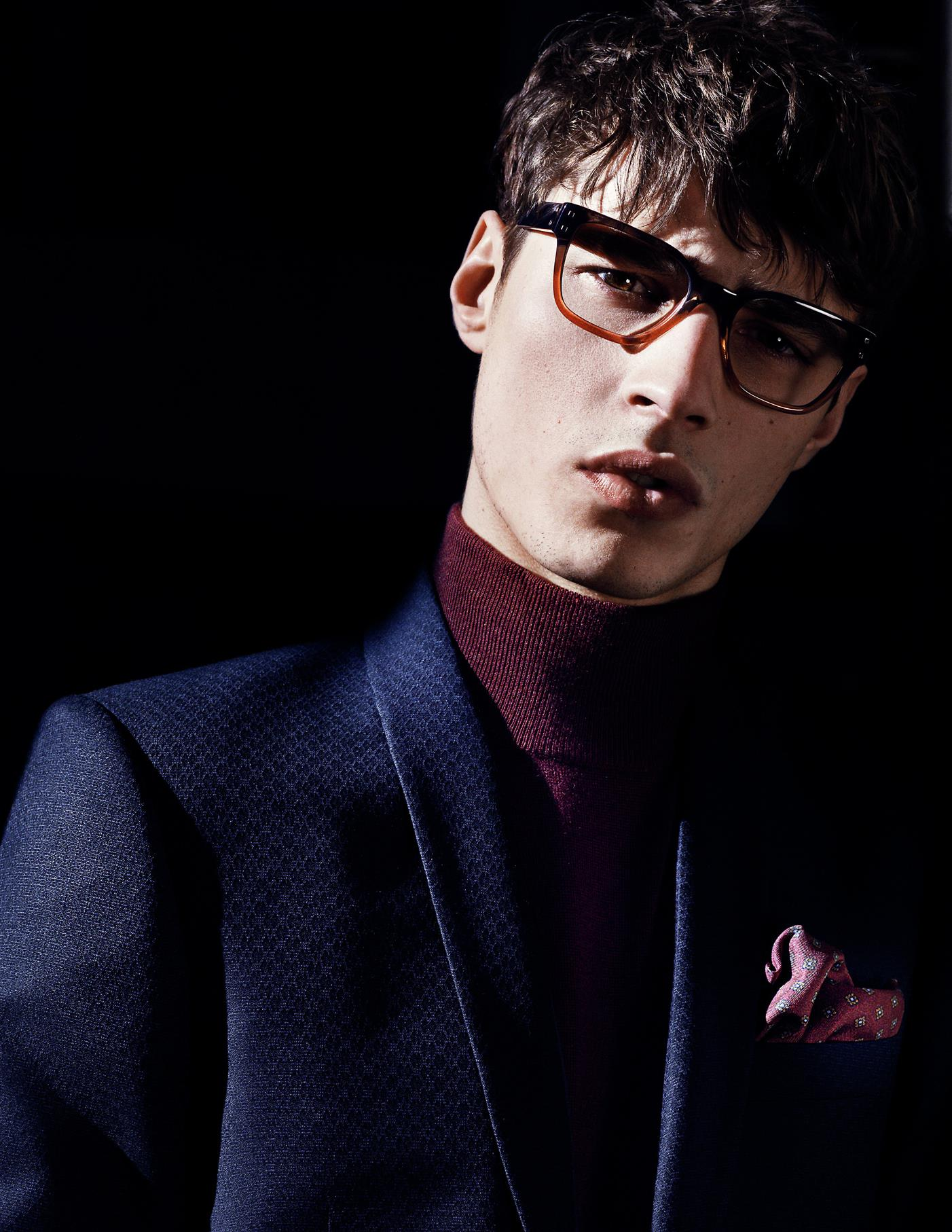 Adrien Sahores Stars in Tiger of Sweden Fall/Winter 2013 Eyewear Campaign