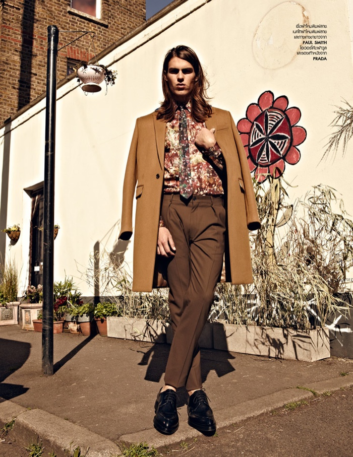 Travis Smith for L'Officiel Hommes Thailand