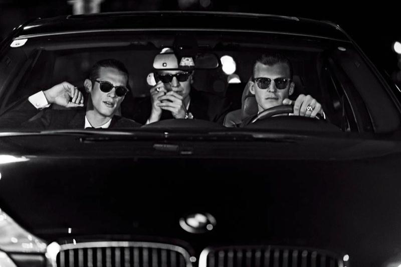 Gerhard Freidl, Patrick Kafka & Domenique Melchior for Wiener Magazine