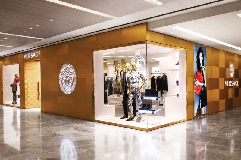 Versace Store Interior