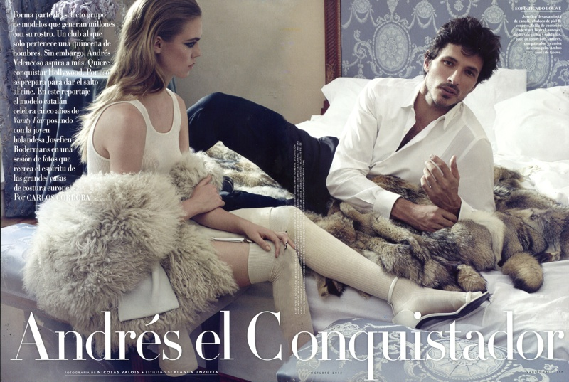 Andres Velencoso Segura for Vanity Fair España
