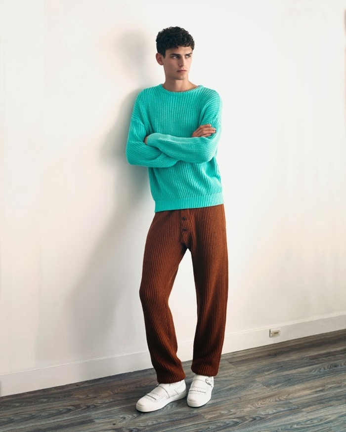 Arthur Gosse Dons Comforting Fall Styles for The Greatest Magazine