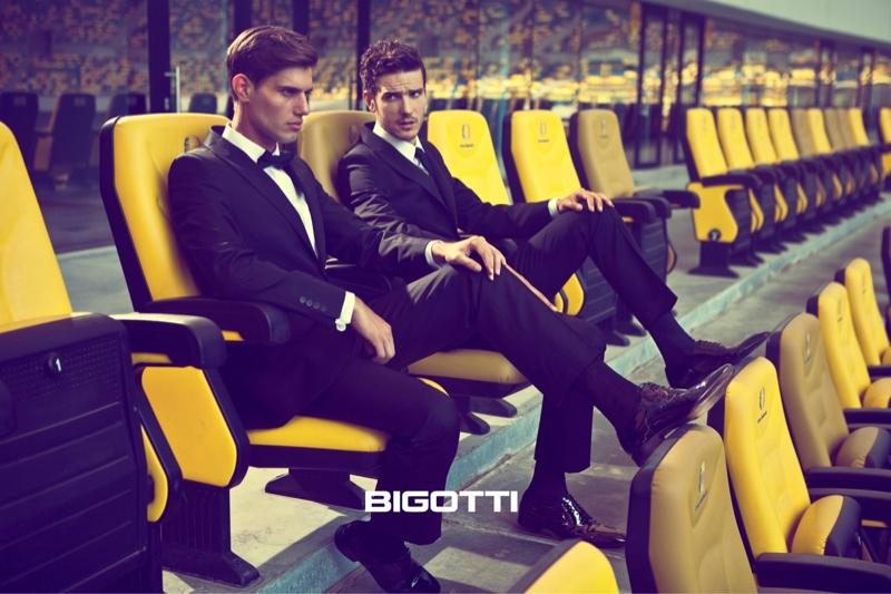Marco Castelli, Thibault Theodore, Matteo Scalvini & Stefano Sala for Bigotti Fall/Winter 2013 Campaign