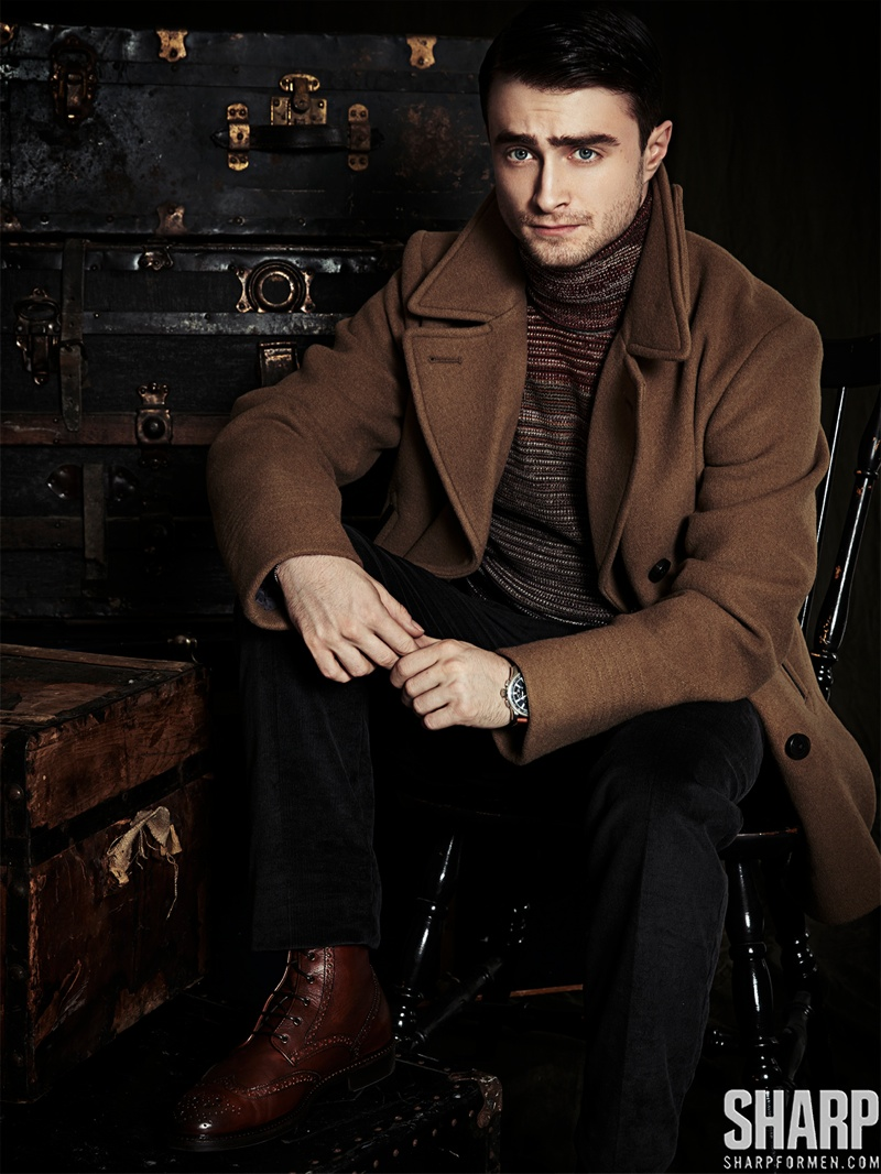 Daniel Radcliffe Dons Dapper Styles For Sharp The