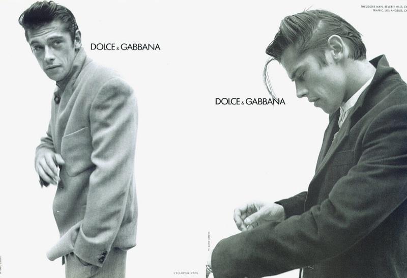 Werner Schreyer for Dolce & Gabbana Fall/Winter 1994 Campaign