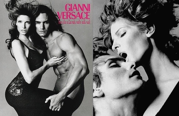Gianni Versace Fall/Winter 1993 Campaign