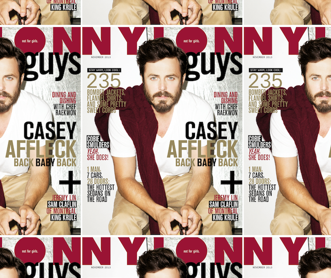 Casey Affleck Nylon Guys Cover
