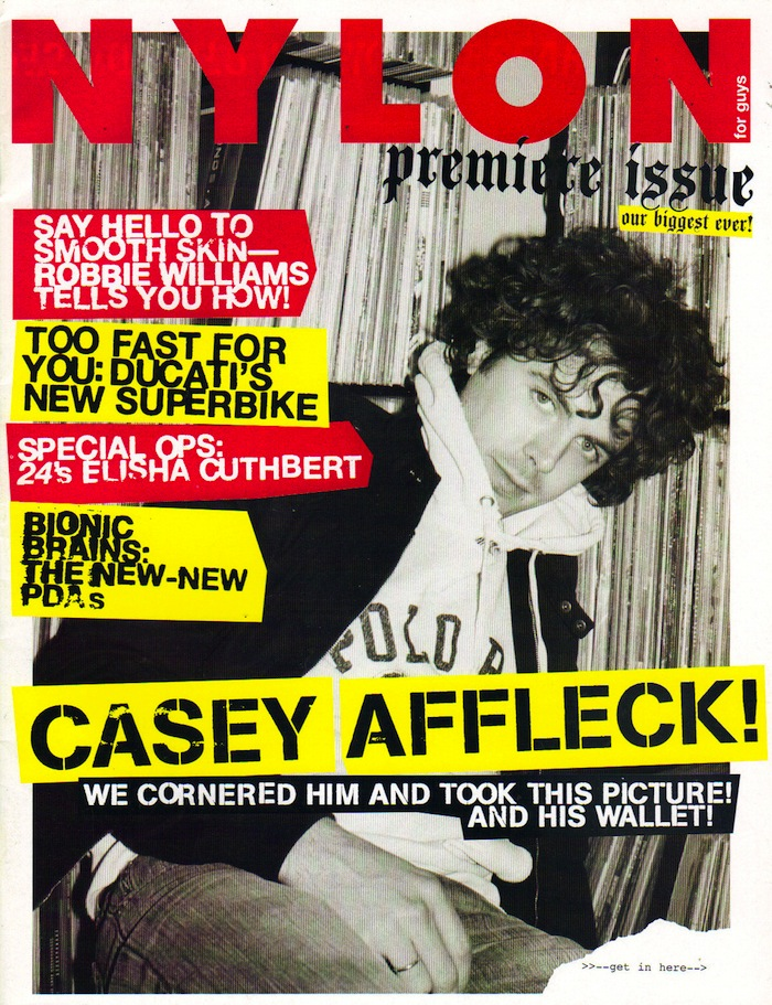 Casey Affleck Nylon Guys Premiere Cover