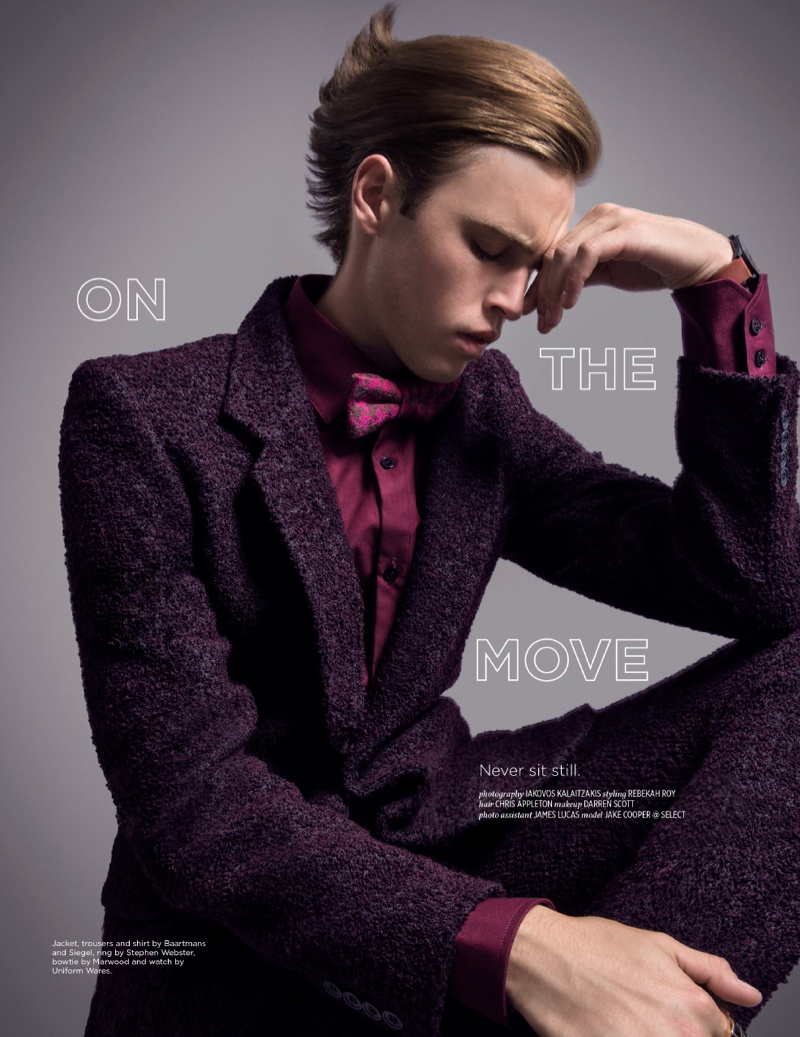 Jake Cooper Dons Fall Colors & Prints for Fault