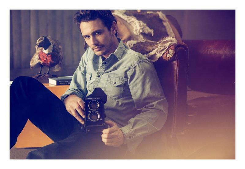 James Franco Covers Harper's Bazaar China