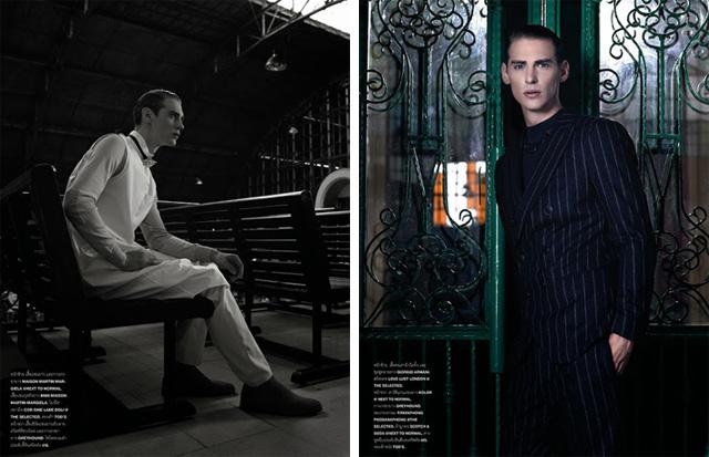 Jeremy Dufour Covers Numéro Homme Thailand