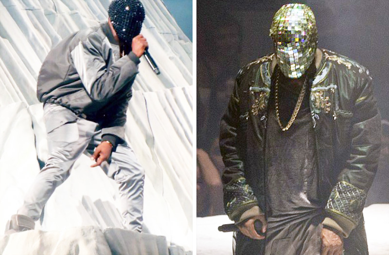 Kanye West Wears Customized Maison Martin Margiela on 'Yeezus' Tour