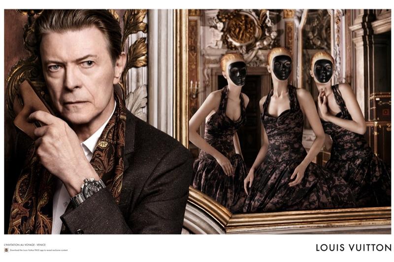 David Bowie for Louis Vuitton Campaign