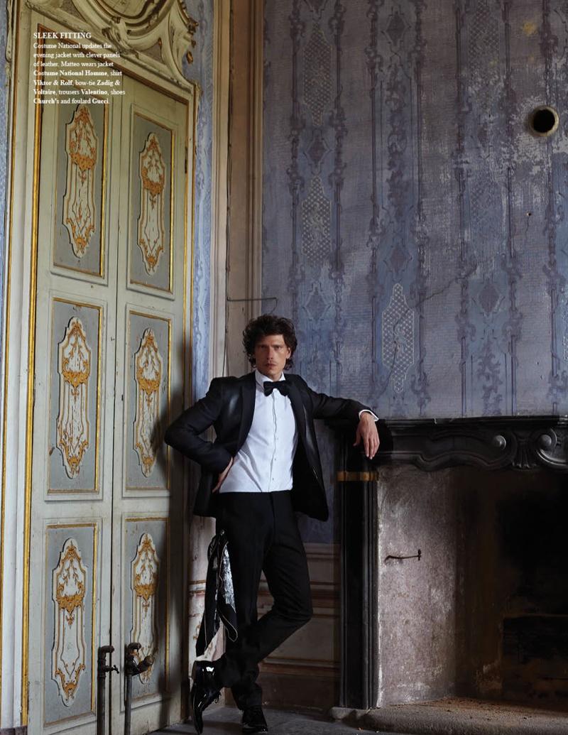 Matteo Martari Gets Luxe for Fashionisto #8