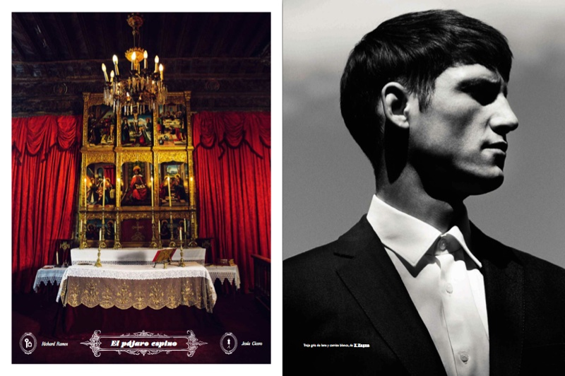 Roch Barbot Dons Tailored Suits for GQ España