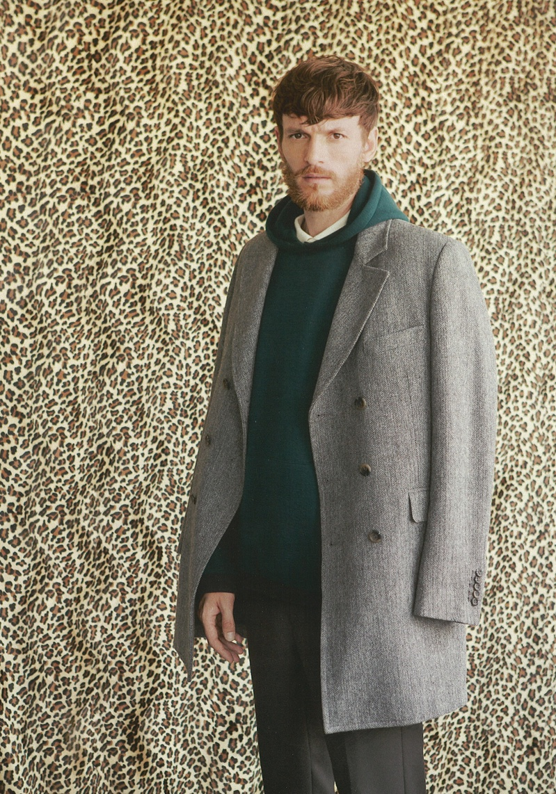 Ryad Slimani Achieves a Wild Style for Grazia