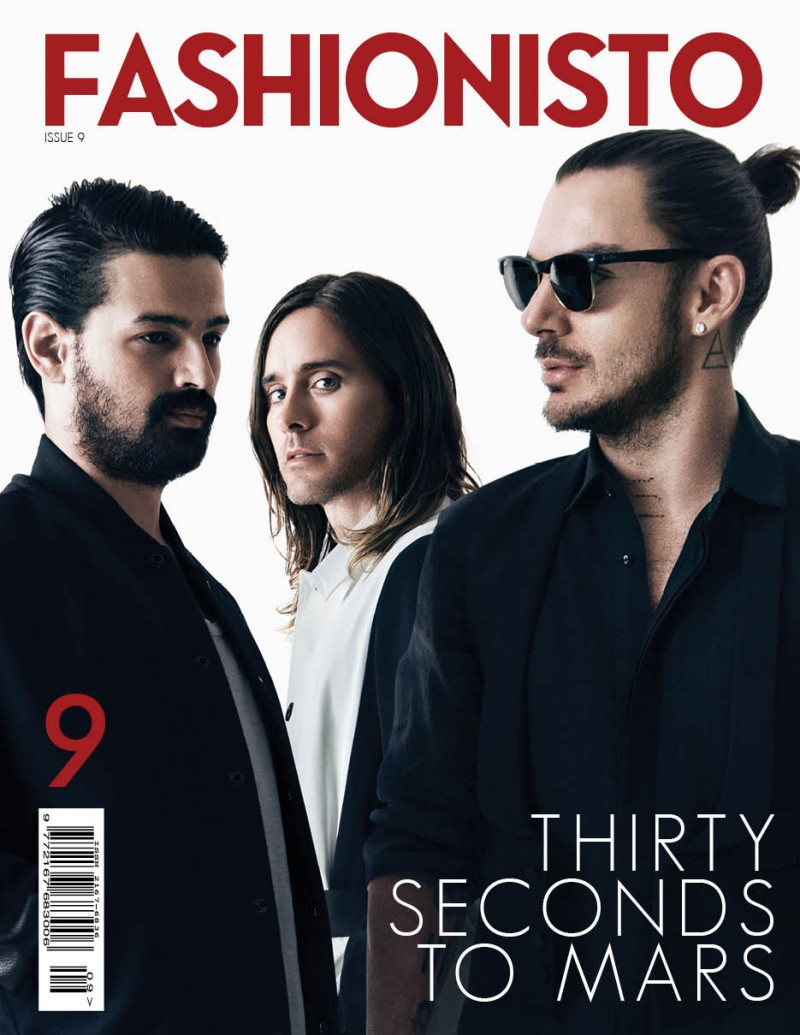 Jared Leto + Thirty Seconds to Mars Cover Fashionisto #9