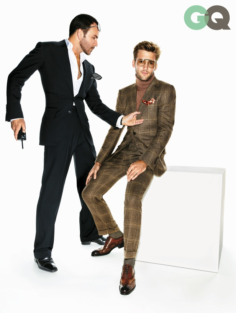 Ford S Style Commandments Gq Enlists American Designer Tom For Advice In Their November Issue Featuring Michael Fbender