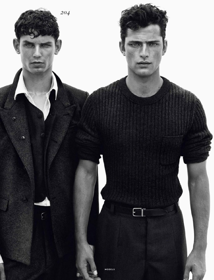 Sean O'Pry, Garrett Neff, Mathias Lauridsen + More for Vogue Hommes International