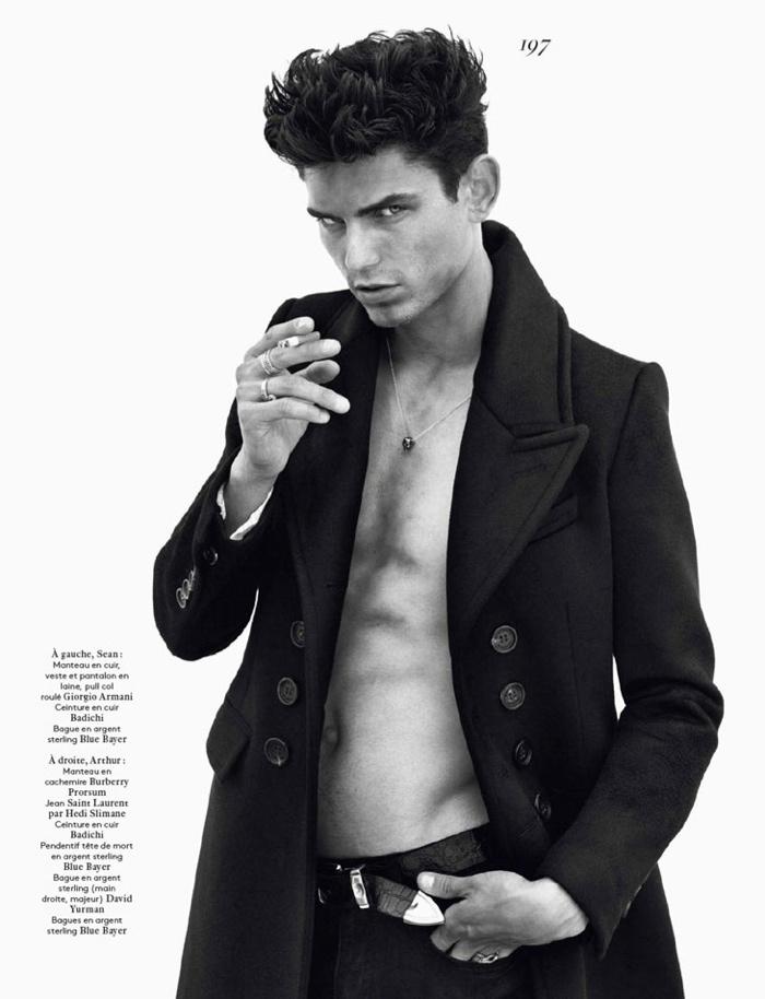 Sean O'Pry, Garrett Neff, Mathias Lauridsen + More for Vogue Hommes International