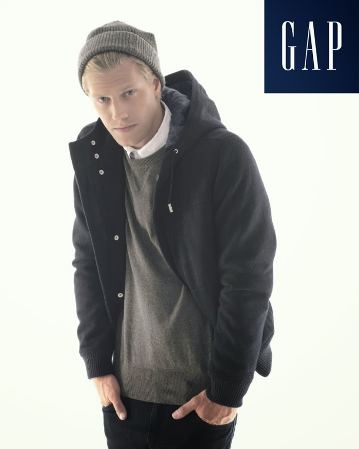 Daniel Lonnstrom Fronts GAP Holiday 2013 Campaign