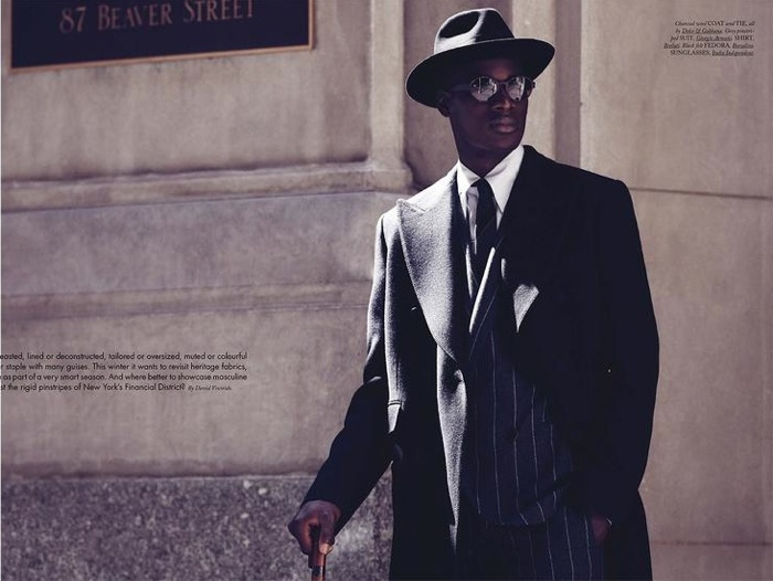 David Agbodji Dons Sartorial Essentials for Hercules
