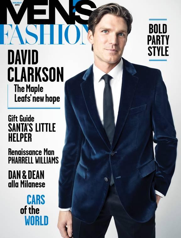 David Clarkson Covers Men's Fashion In BOSS By Hugo Boss