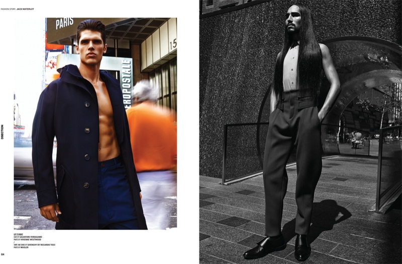 Brian Shimansky & Willy Cartier for DSection