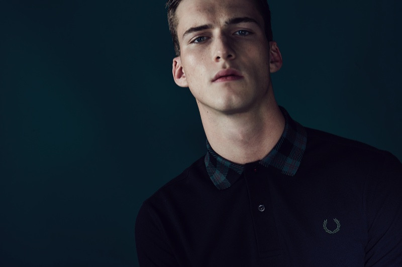 fred perry laurel wreath blank canvas tartan collection