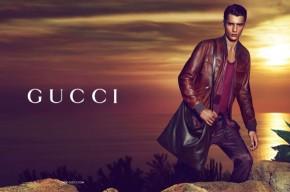 Baptiste Radufe for Gucci Cruise 2014 Campaign