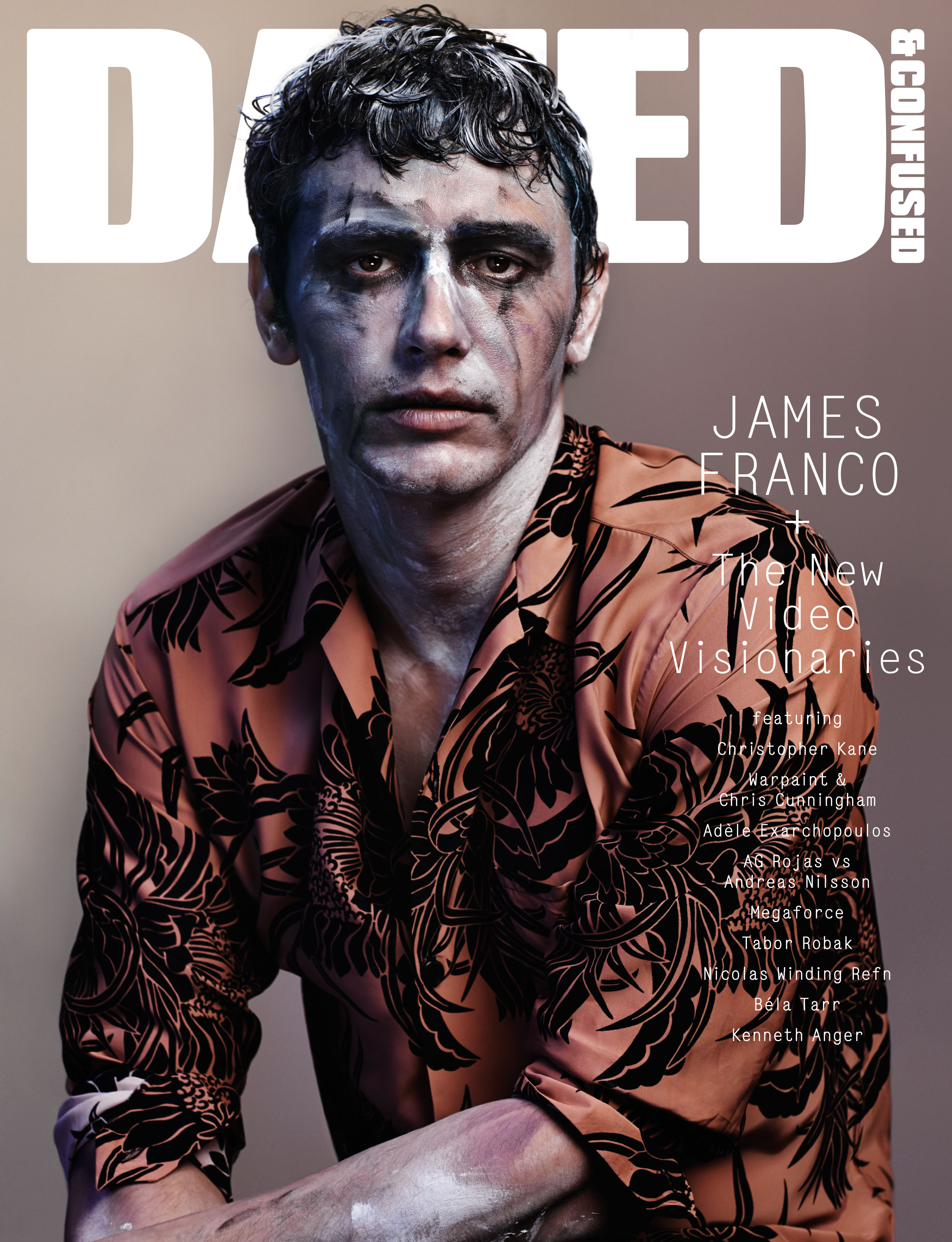 James Franco Covers the December Issue of Dazed & Confused