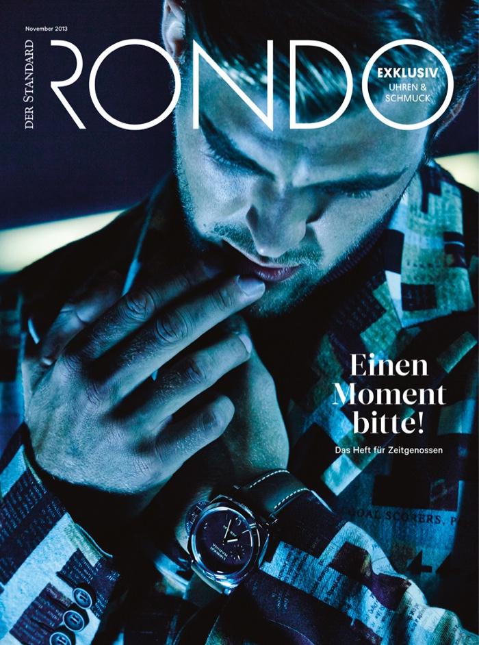 Patrick Kafka Covers Rondo Magazine