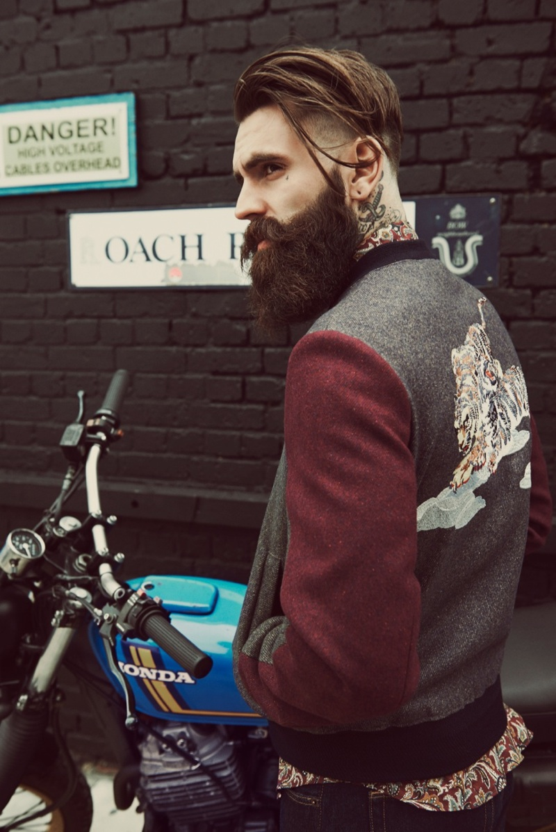 Ricki Hall Wears Essential Styles For L Officiel Hommes