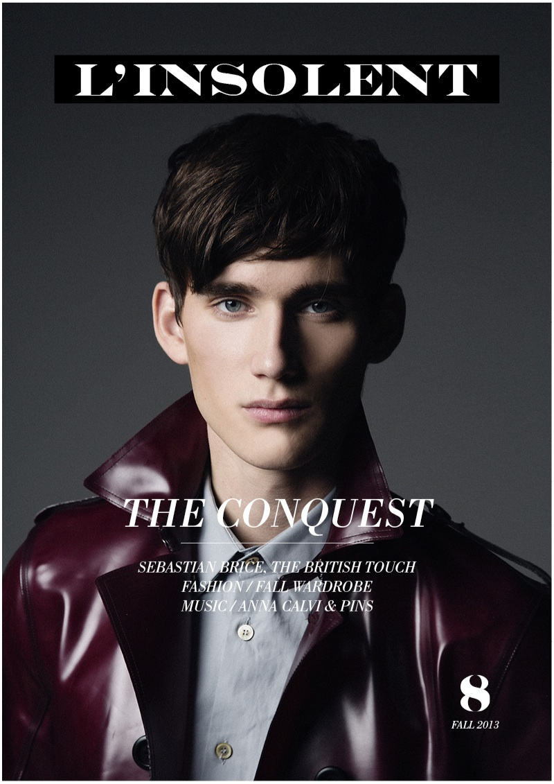 Sebastian Brice Covers L'Insolent Magazine
