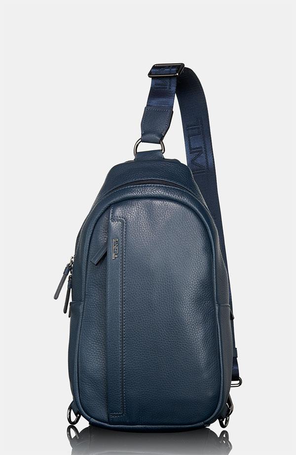 Tumi 'Centro - Murano' Leather Sling Bag