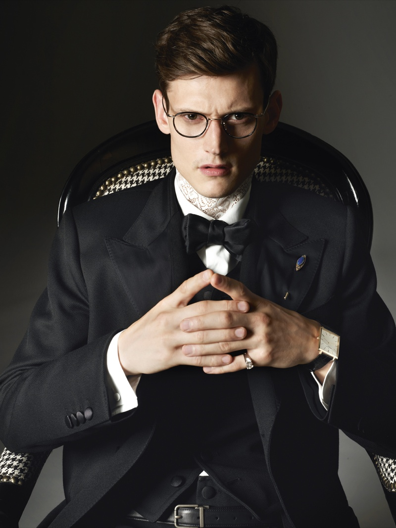 Adam & Simeon Don Fall Suiting for The Millenary Post
