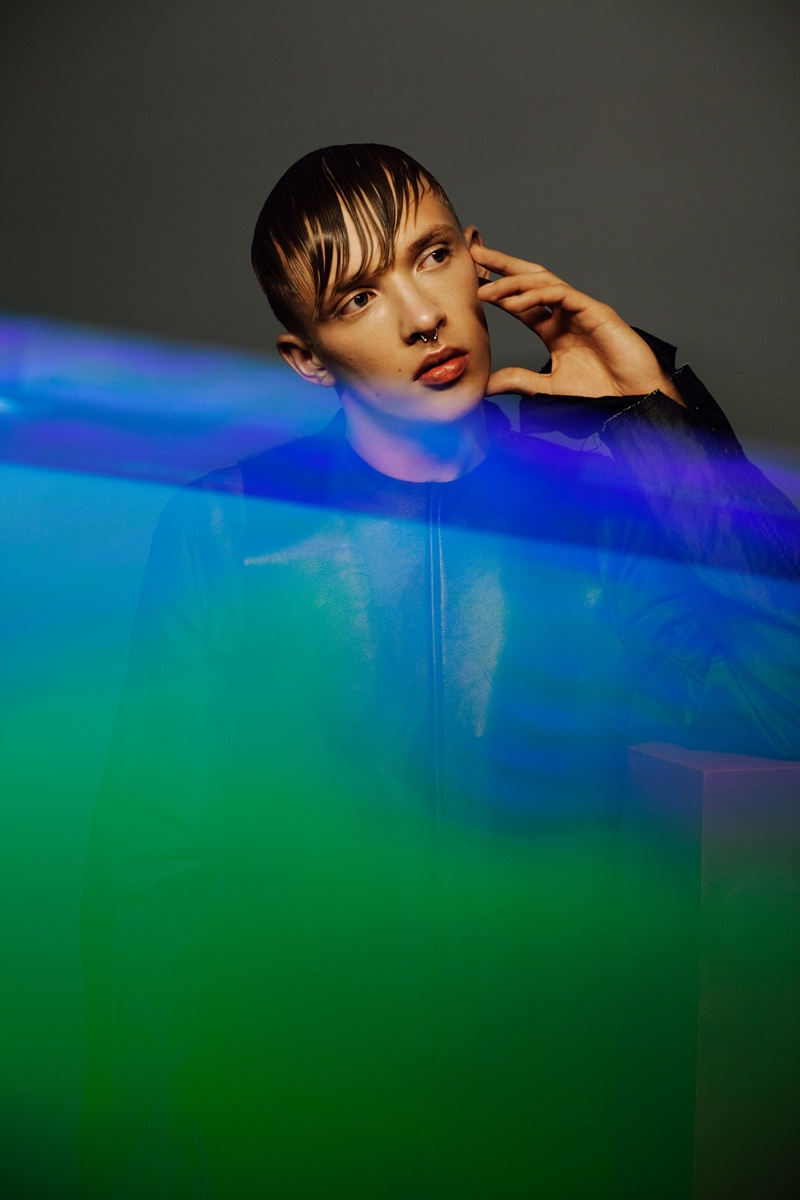 Sebastian Ahman & Valters Medenis Don Colorful S/S '14 Fashions for Wonderland