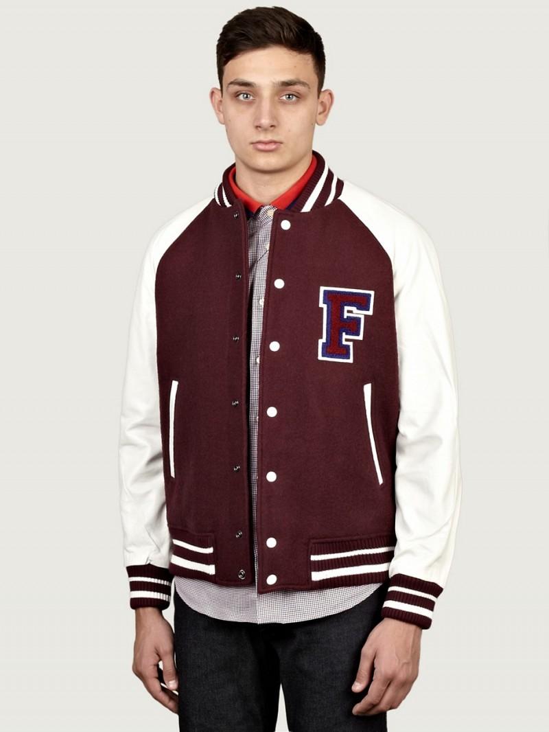 Raf Simons X Fred Perry Men's Checkerboard Harrington Jacket